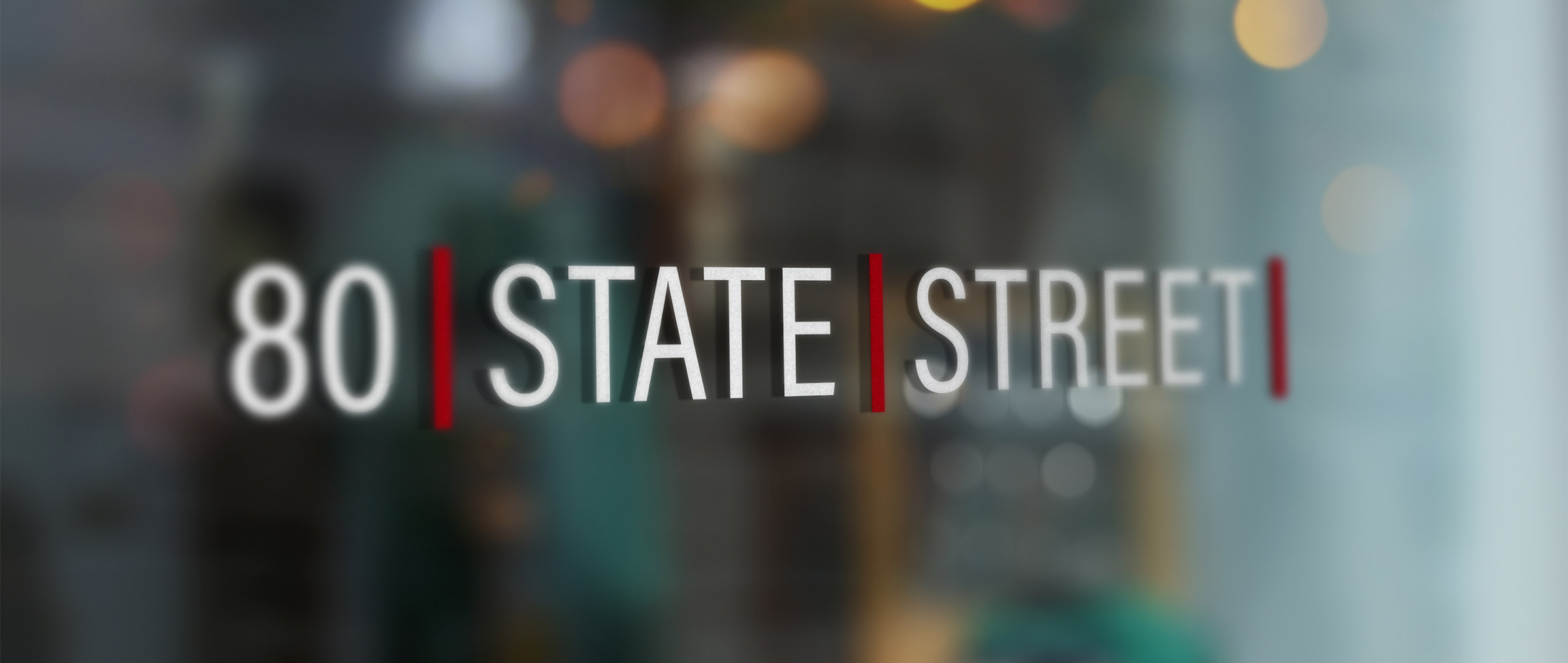 80 state street sign